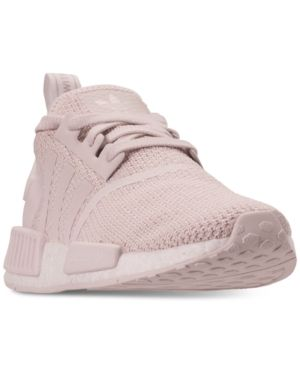 84971072f499 adidas Women s Nmd R1 Casual Sneakers from Finish Line - Purple 6.5