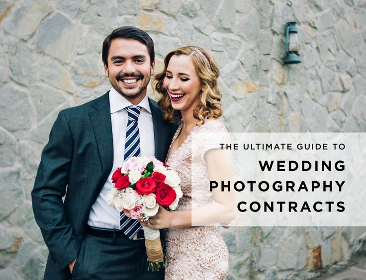 The Ultimate Wedding Photography Contracts Guide - Free Wedding - photography contracts