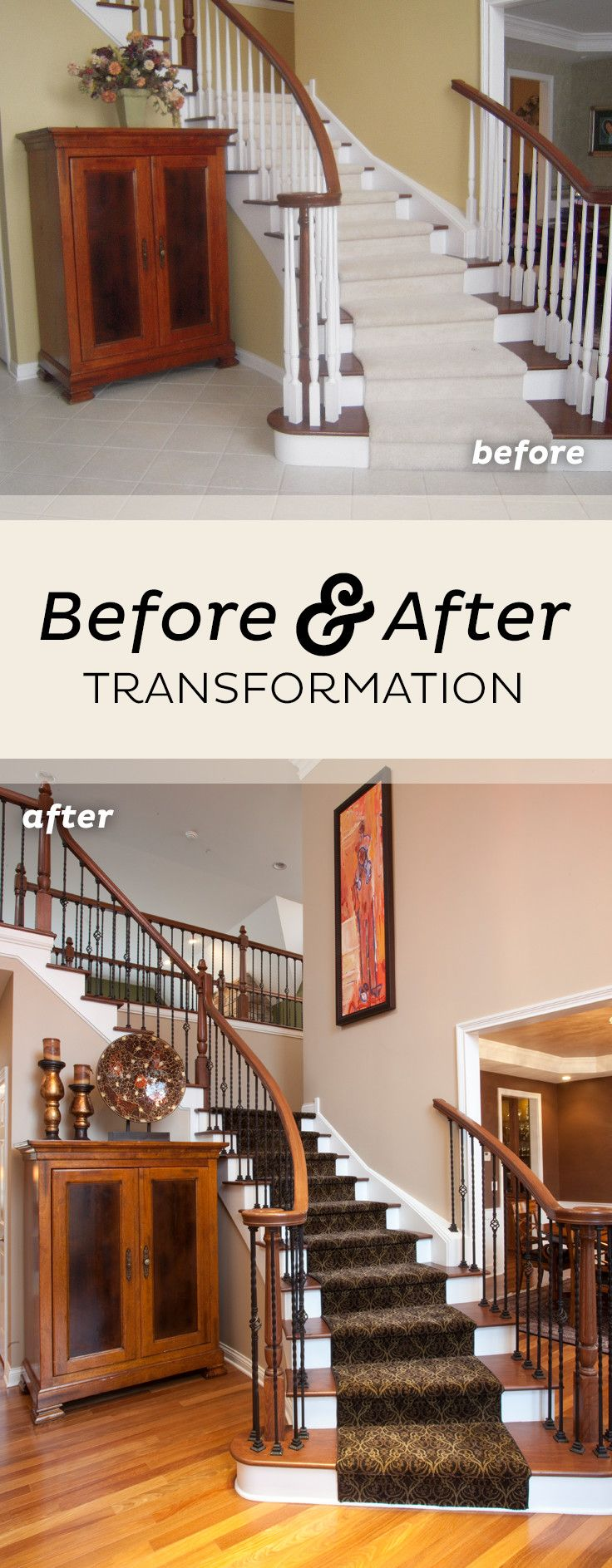 Dream Home Renovation Project by   Home renovation, House styles, Home remodeling