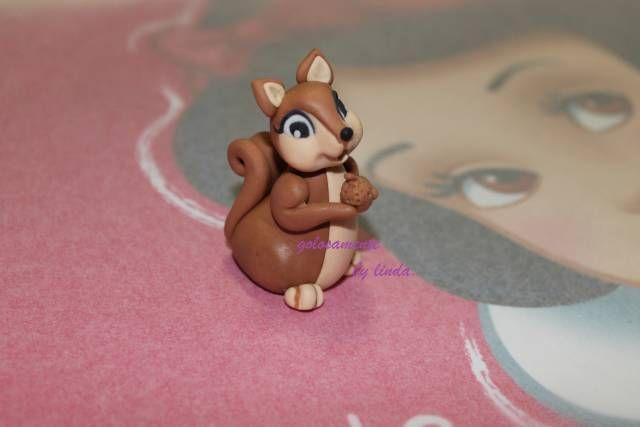 A Sweet Squirrel Cakesdecor Tutorial Cake Cupcake