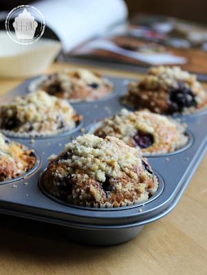 Qezine Muffins moelleux aux blueberries Muffins