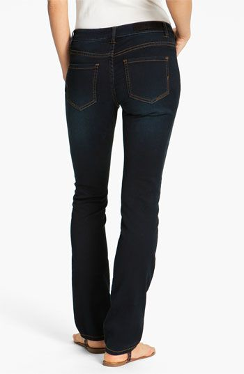 Liverpool Jeans Company 'Saddie' Straight Leg Supersoft Stretch Jeans (Petite) available at #Nordstrom