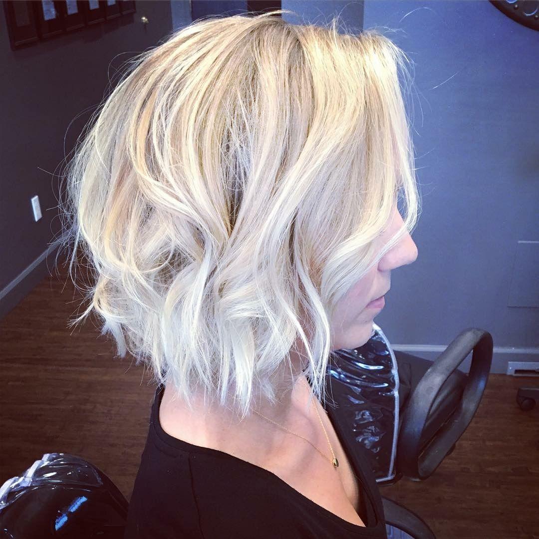 Cool, pale blonde by Shannon Gamblin at Salon de Christé! #avedacolor #stlouisstylist