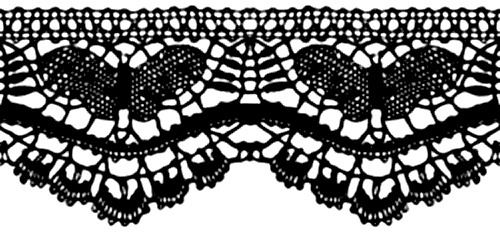 Black Lace Roll Transparent Png Google Search Lace Background Vector Free Png