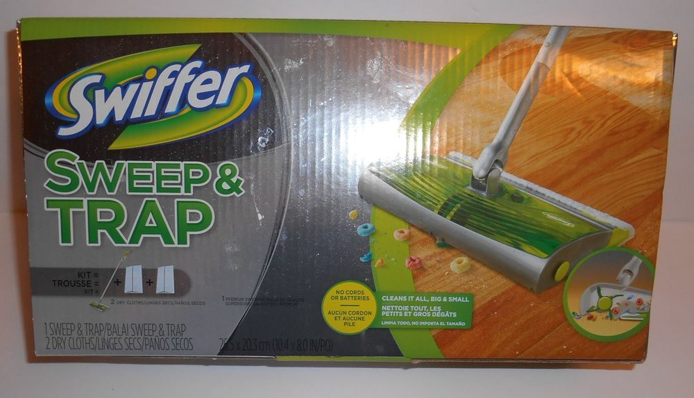 Swiffer Sweeper Sweep Trap For Hard Wood Floors Hard Surfaces New