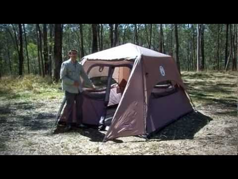 Coleman Instant Up 6P - Tent Guide Review - Rayu0027s Outdoors & Coleman Instant Up 6P - Tent Guide Review - Rayu0027s Outdoors | Pop ...