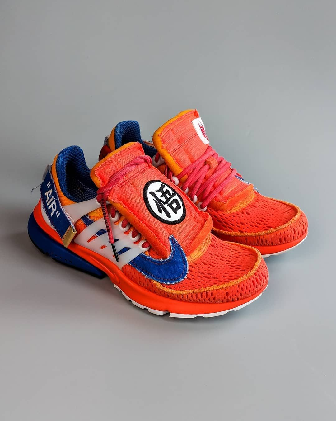finest selection be43c 6bd9b Dragon Ball Z GOKU Off-White x Nike Presto. How much would you