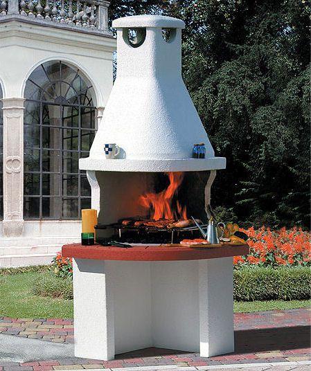 Modern Outdoor Barbecue Design