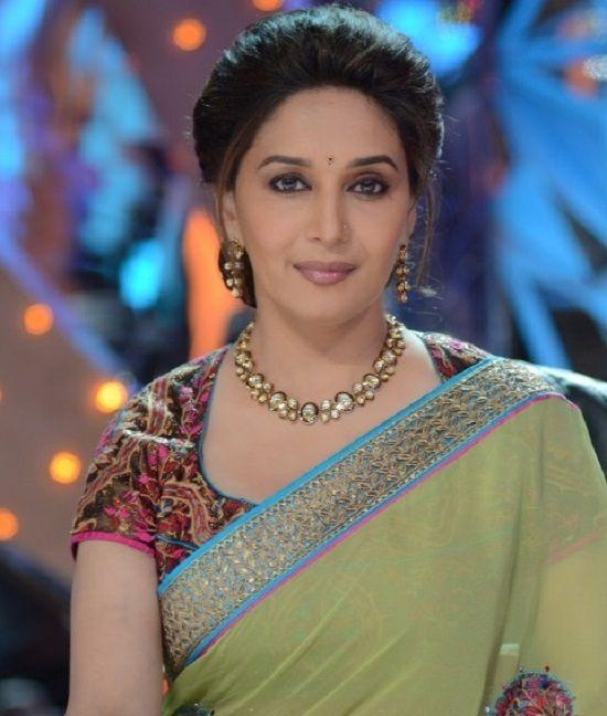 10 Beautiful Hairstyles Of Madhuri Dixit