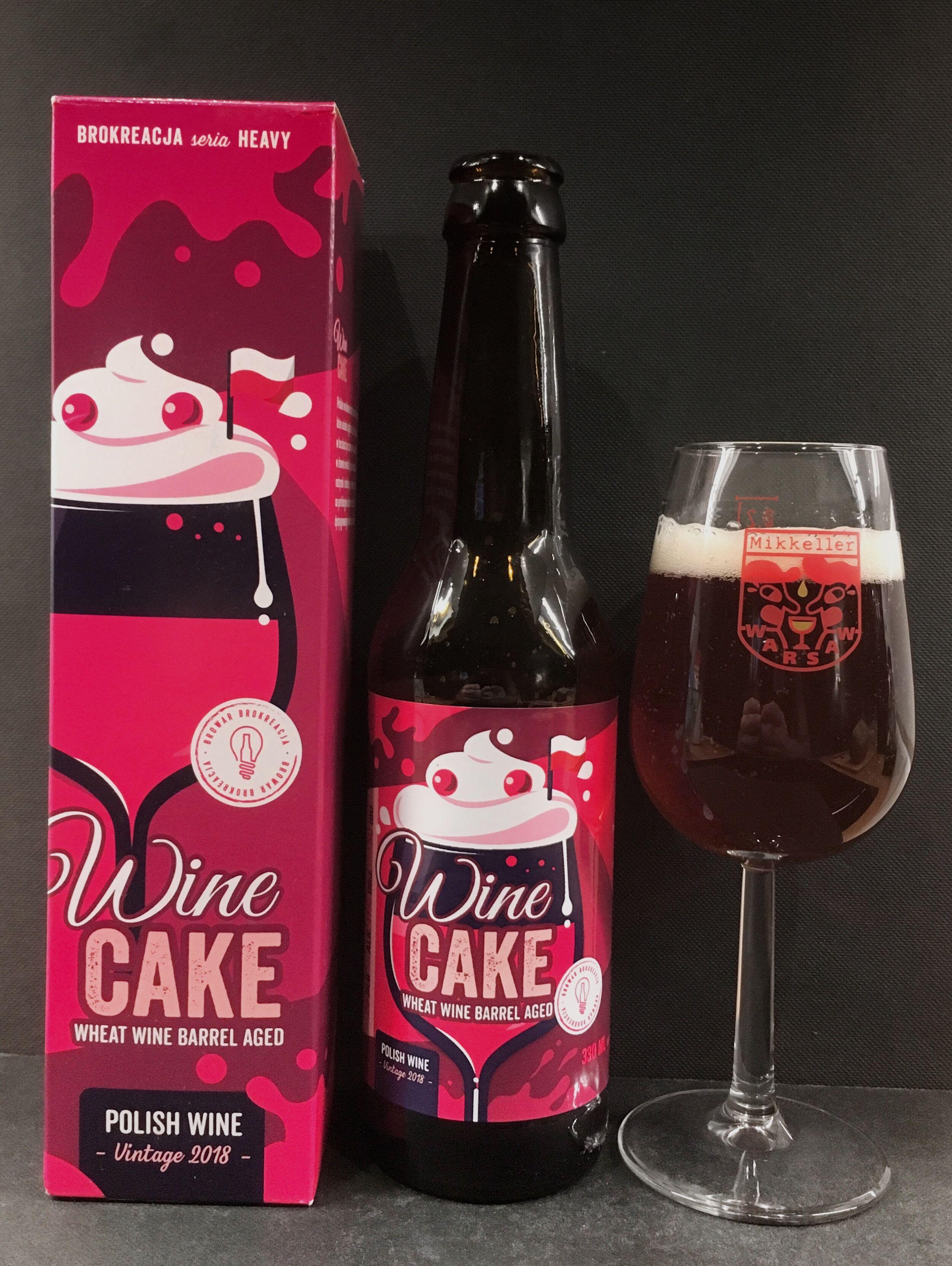 Brokreacja Wine Cake Cerveza