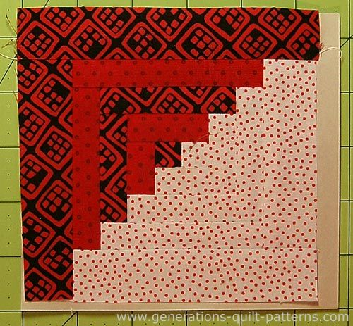 Easy Log Cabin Quilt Pattern: Paper Pieced to Perfection | Quilt ... : easy log cabin quilt pattern - Adamdwight.com