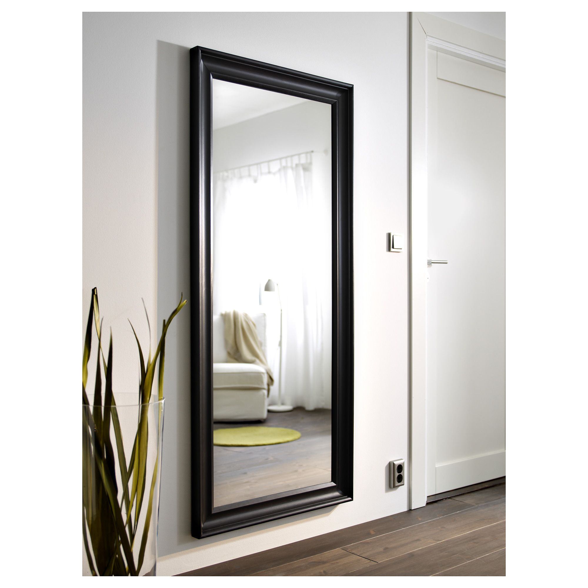 Ikea Hemnes Spiegel : ikea hemnes mirror black brown in 2019 mirrors ~ Watch28wear.com Haus und Dekorationen