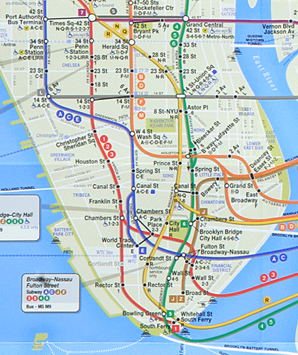 Chelsea Subway Map.New Mta Metro Map Of Nyc Nyc Subway Map Tracking App Map