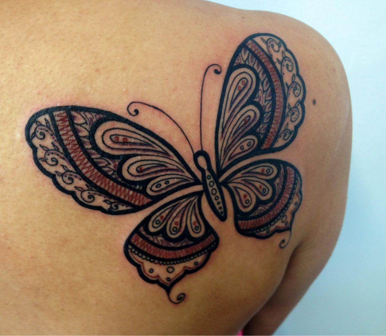 Butterfly Henna Tattoo Designs: Tumblr_mctmxvOkrO1r1d40eo1_1280.jpg (1280×1114) (With