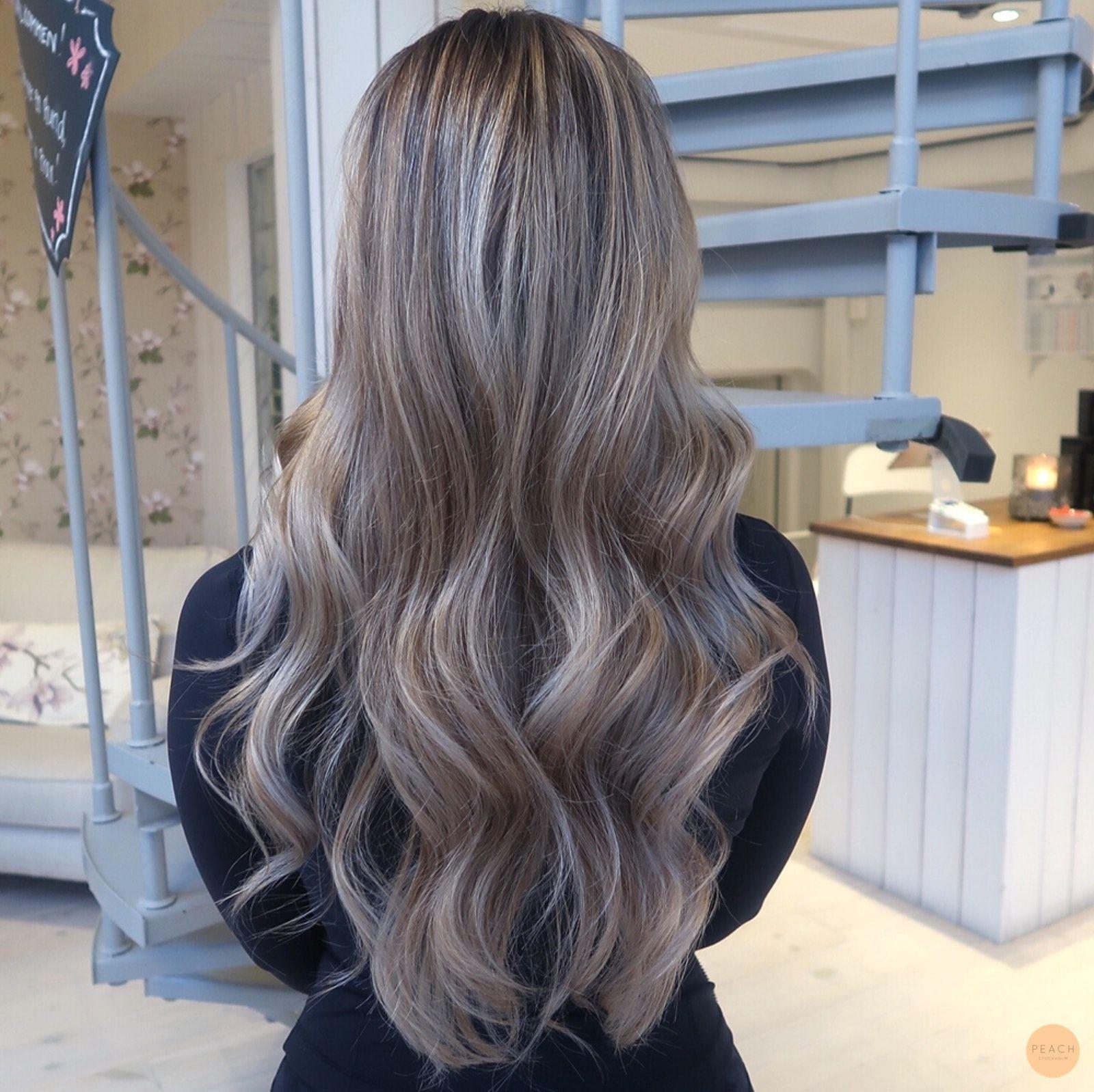 mörk askblond hårfärg