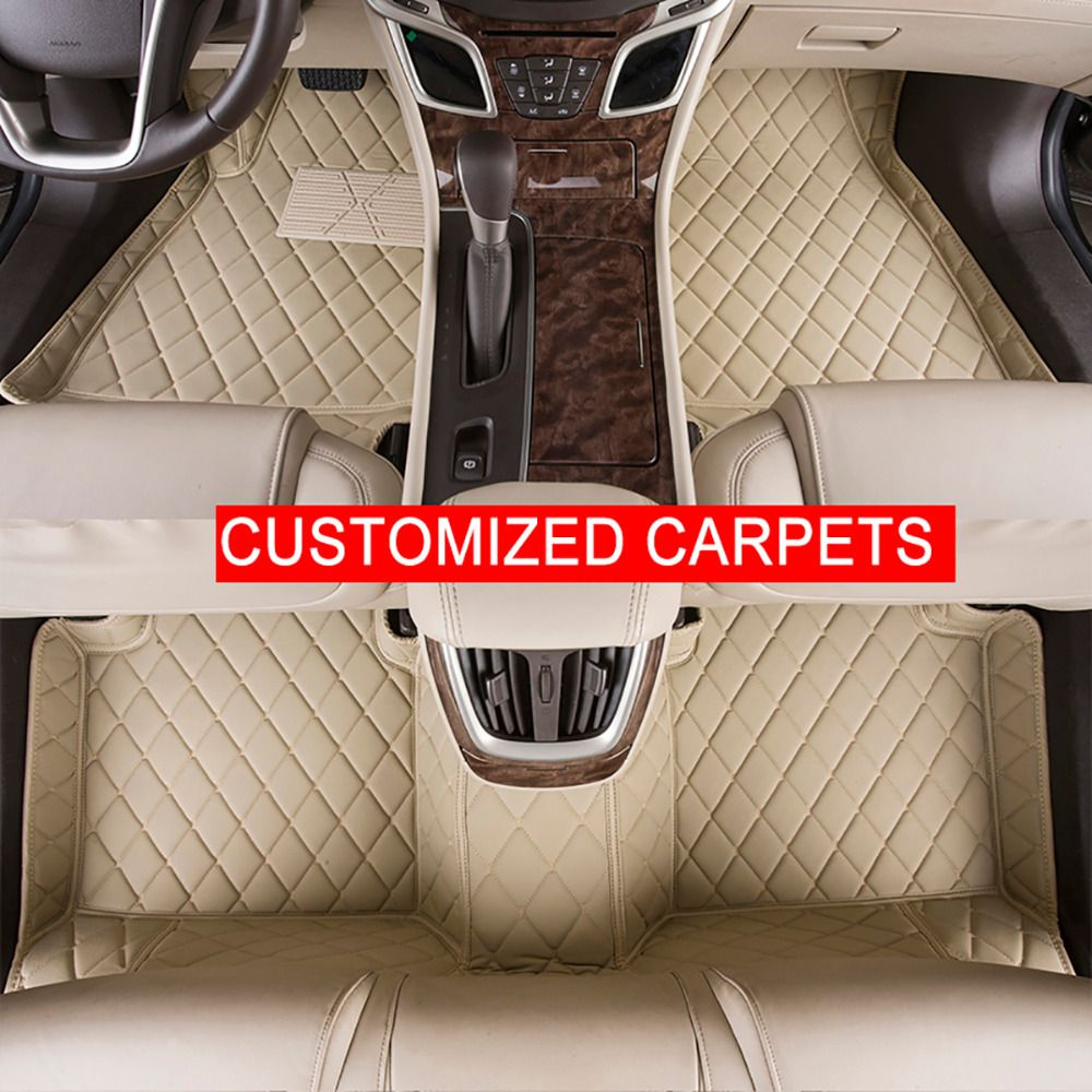Car Floor Mats Case For Land Rover Freelander 2 2010 Customized Auto Carpets Custom Fit Foot Liner Mat Rugs Black