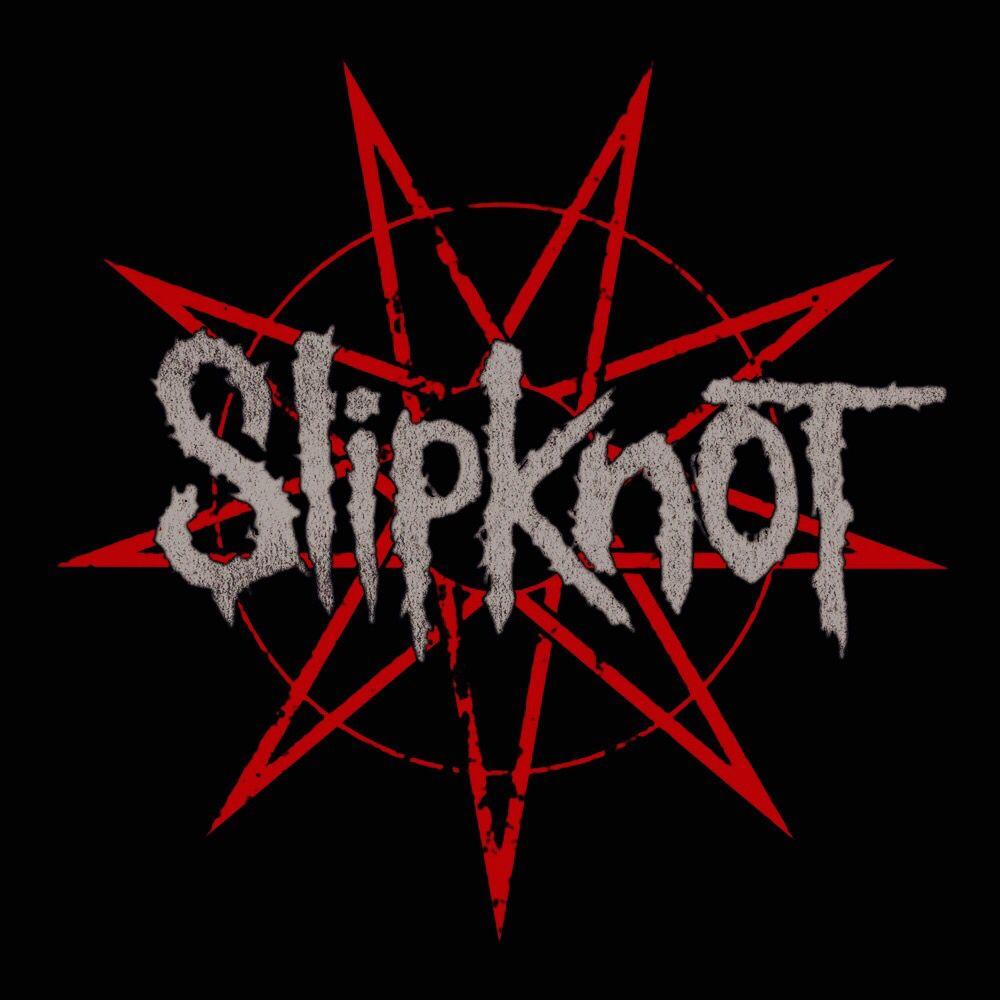 Slipknot Name Logo Metall Musik Rot Bestickt Zum Aufbügeln Aufnäher #645R