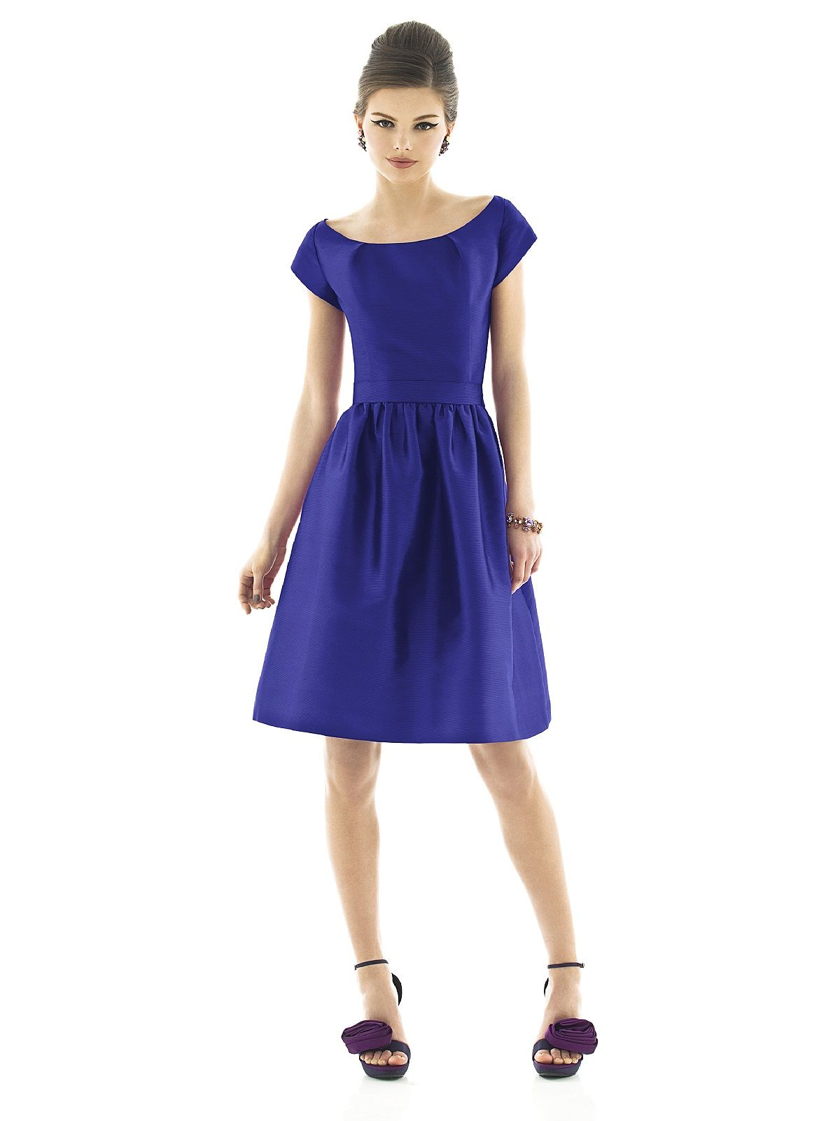 Alfred Sung Style D554 #Vintage #Retro #Wedding #Bridesmaid #Dress ...