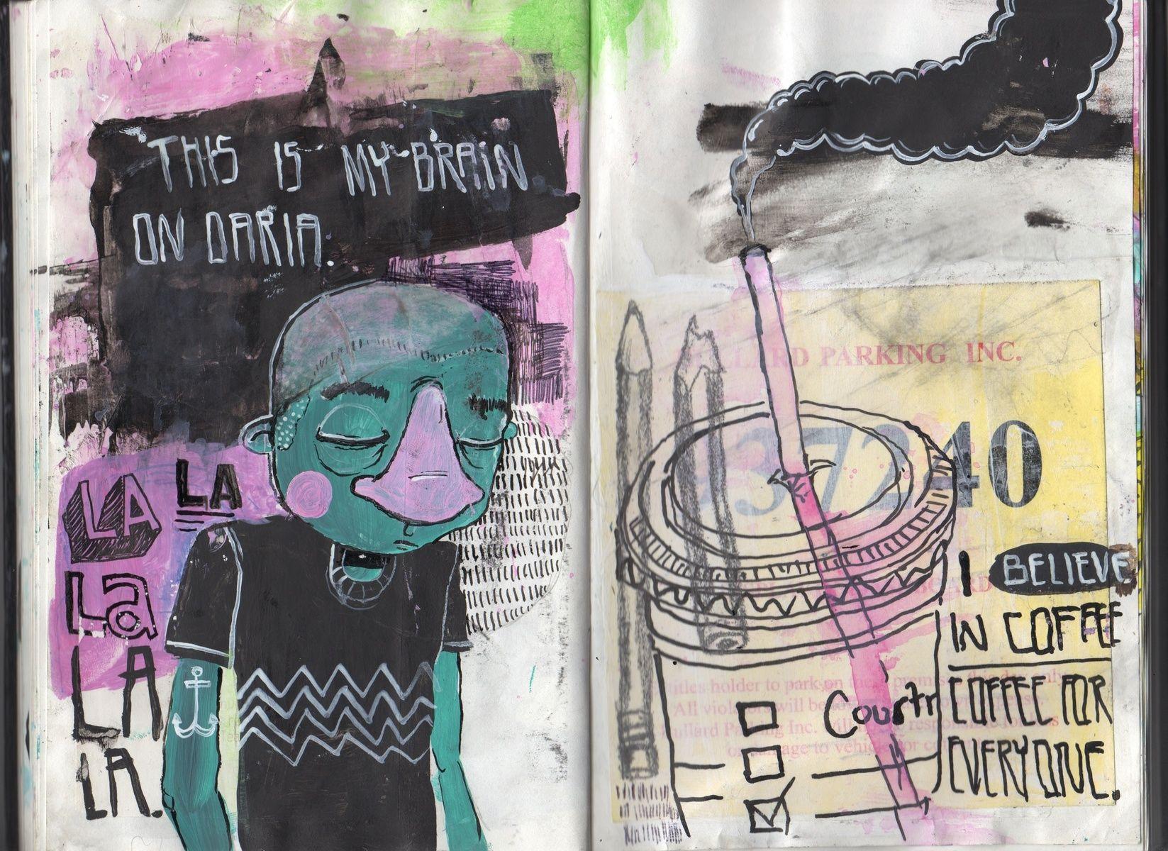 Courtney Makes Stuff - Sketchbook