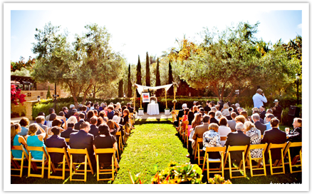 Estancia La Jolla Hotel San Go Outdoor Wedding Ceremony Venues