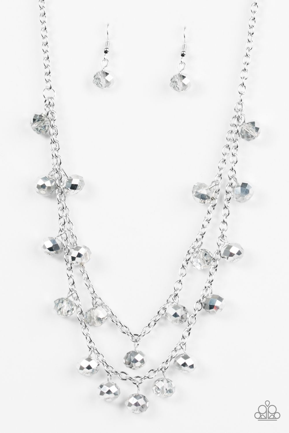 Super Supernova - Silver Necklace Set 💞 ONLY  5💞 💍Lead and Nickel  Free!💎 www.razzledazzlevip.com a4496a62c60d