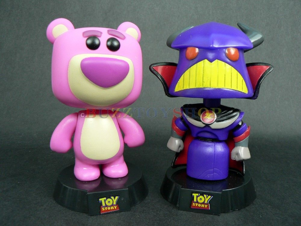 Funko Pop Toy Story 3 Bobbing Head Lotso Bear Emporor Zurg 4