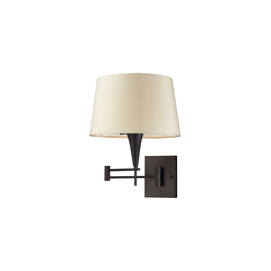 Westmore Lighting 12 In W 1 Light Aged Bronze Wall Sconce Lowes Com Bronze Wall Sconce Sconces Plug In Wall Sconce