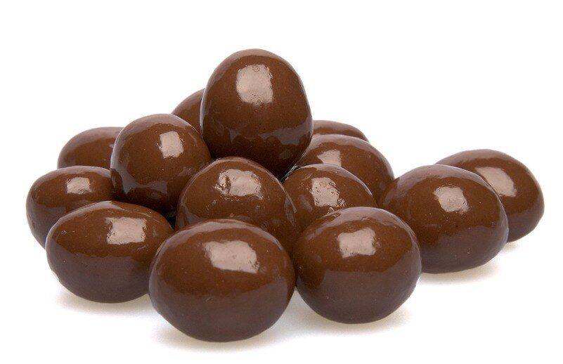 Milk Chocolate Covered Espresso Beans - 1 pound