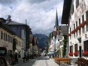 Garmisch-partenkirchen, Barvaria Germany, my amd millions of Germans favorite ski area