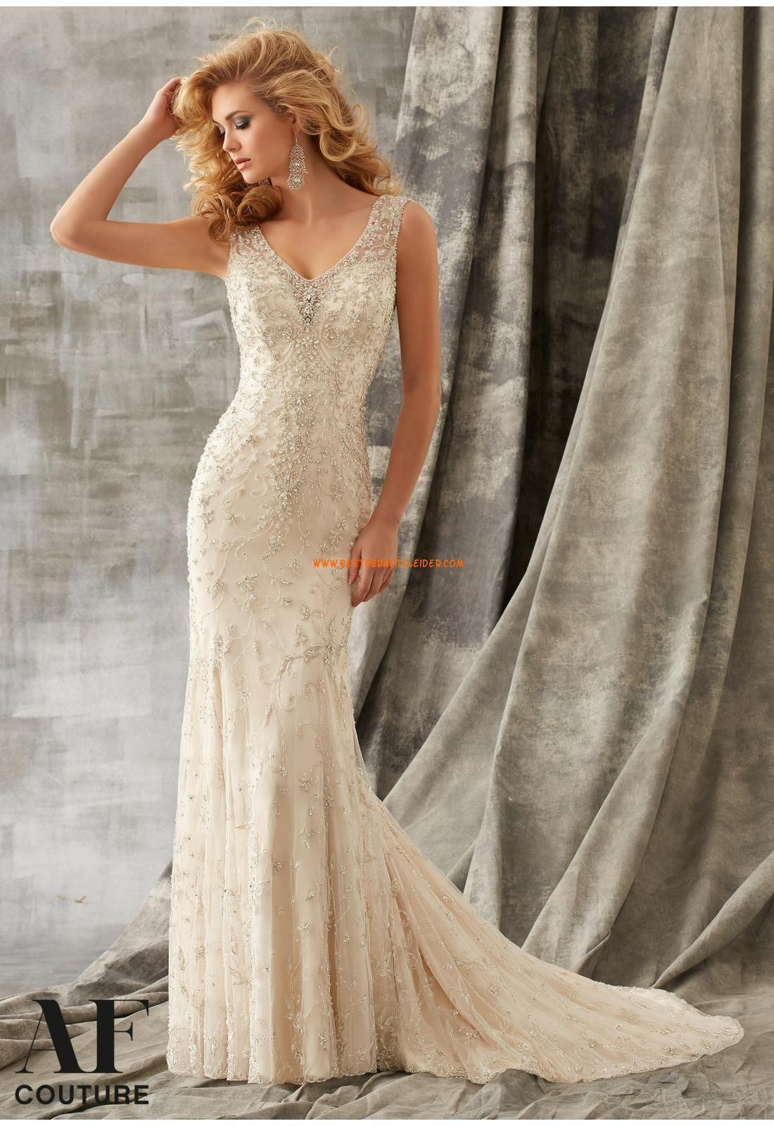 Angelina Faccenda Meerjungfrau Elegante Luxuriose Brautkleider Aus