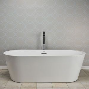 Jacuzzi Primo; White Acrylic Oval Freestanding Bathtub With Center Drain  (Common: 36 In X 66 In; Actual: 24 In X 34 In X 66 In   Pinterest