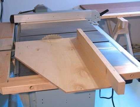 Table Saw Crosscut Sled By Matthias Wandel The Type Of Sled