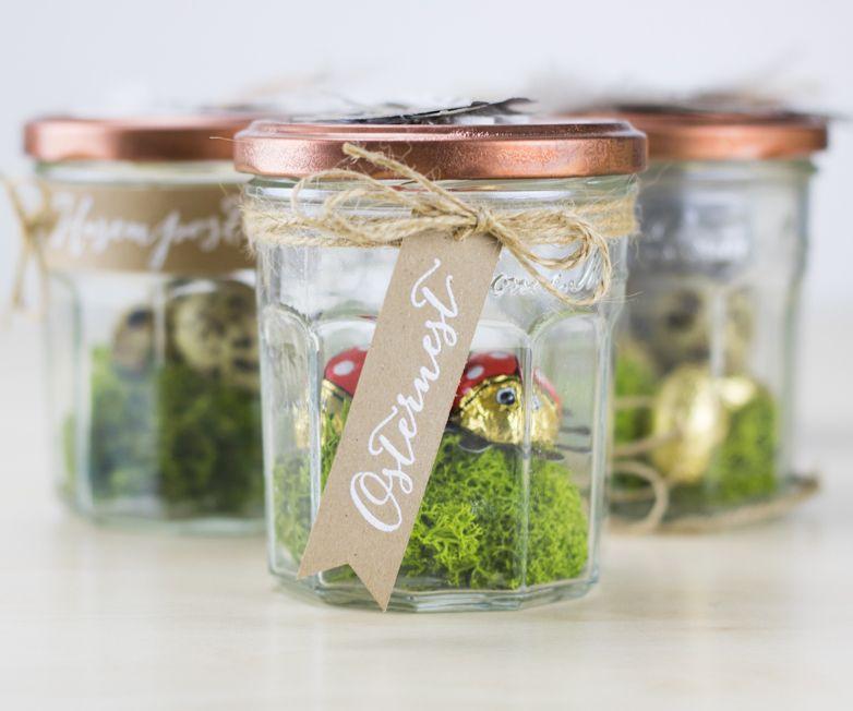 Upcycling: Osternest im Marmeladenglas - Kreativliebe #inspiringpeople