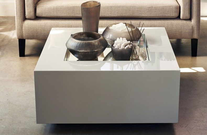 The Box Mirror Coffee Table Grey Kelly Hoppen London 990 but
