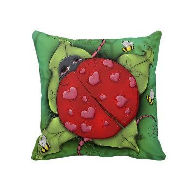 Lovebug - Pillow by CK_Designs
