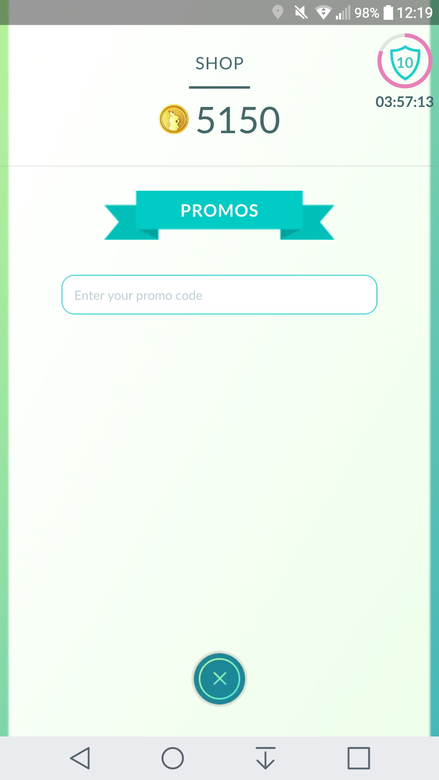What Is The Promo Code To Unlock The Shop As Of Today I Need A Code For It Promo Codes Coding Pokemon Go