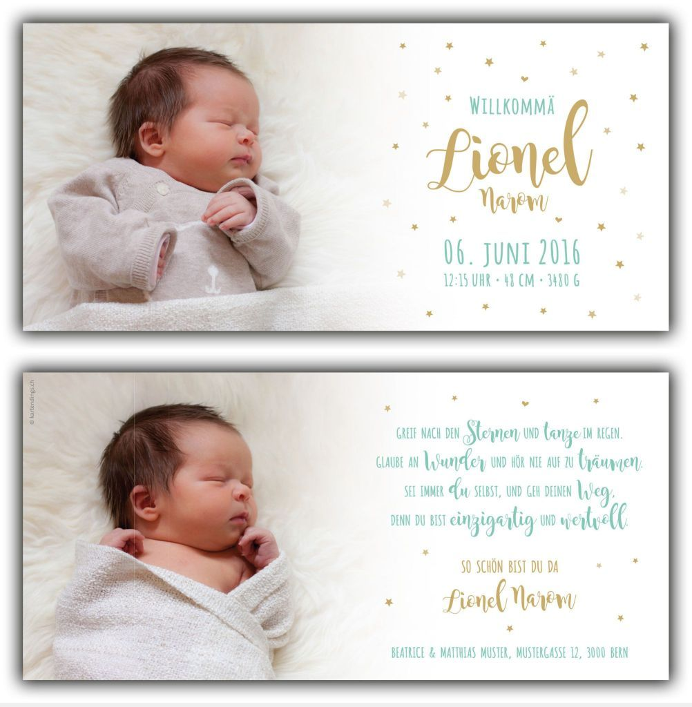 Text Dankeskarte Geburt : Text Danksagung Geburt Krankenhaus