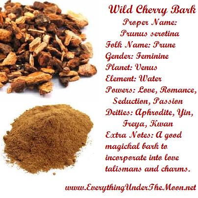 Wild Cherry Bark | Magical Properties Of     | Witchcraft