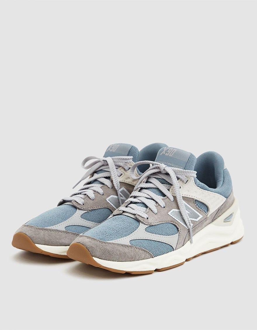 2f201c0148bdd New Balance   X90 Sneaker in Cyclone Marblehead in 2019