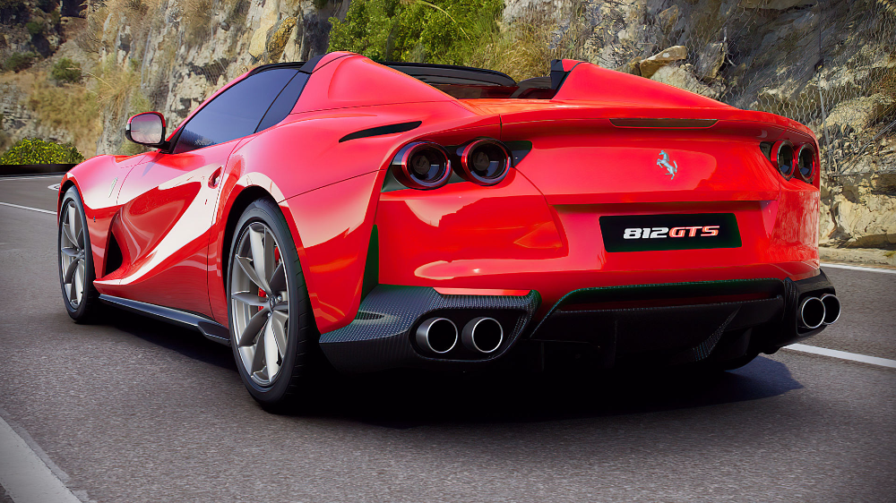 2020 Ferrari 812 Gts V12 Spider Red Images Wallpaper In 2021 Ferrari Red Images Luxury Suv