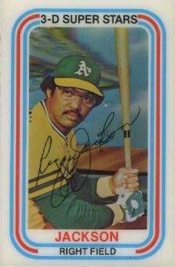 1976 Baseball Cards 1976 Kelloggs Reggie Jackson 8 Baseball Card