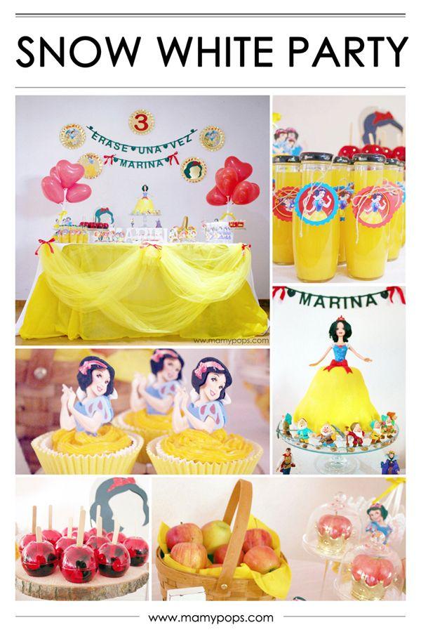 Decoración de cumpleaños Blancanieves - Snow White Party