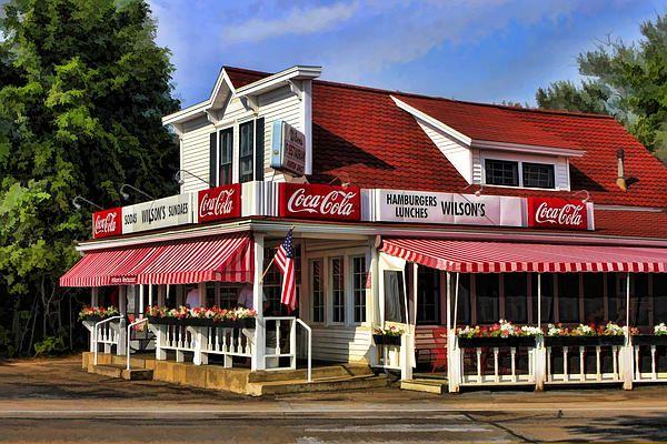 Door County Wilson S Ice Cream Store By Christopher Arndt Door County Door County Wisconsin Classic Doors