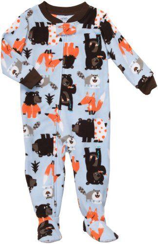 0ea16eb74 Carter s Boys Fleece Footed Blanket Sleeper Pajamas « Clothing ...