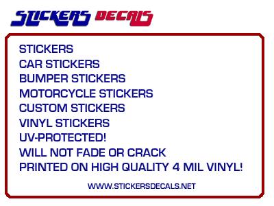Decals Stickers Vinyl Decals Car Decals Motorcycle - Motorcycle bumper custom stickers