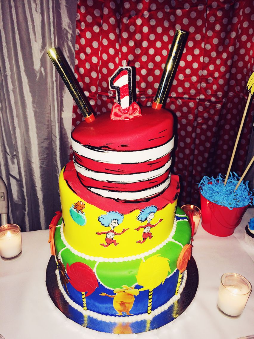 Birthday cake with car in the hat inspired candle two firework