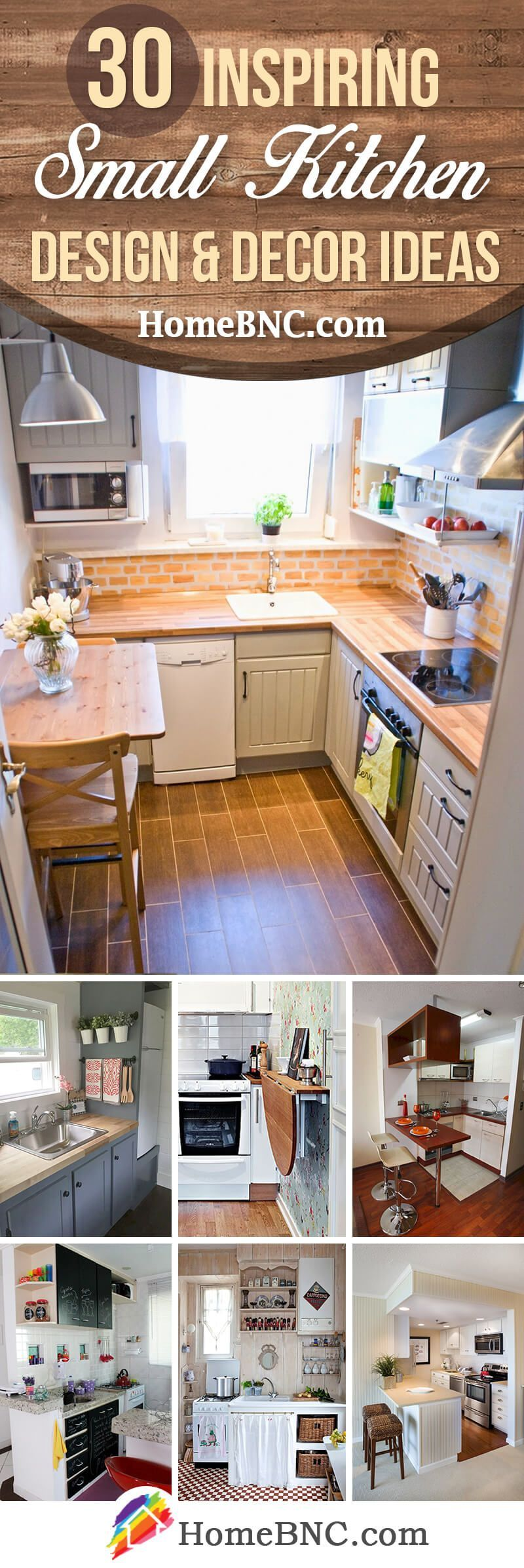 30 Nifty Small Kitchen Design And Decor Ideas To Transform Your Cooking Space Small Kitchen Decor Country Kitchen Decor Kitchen Design