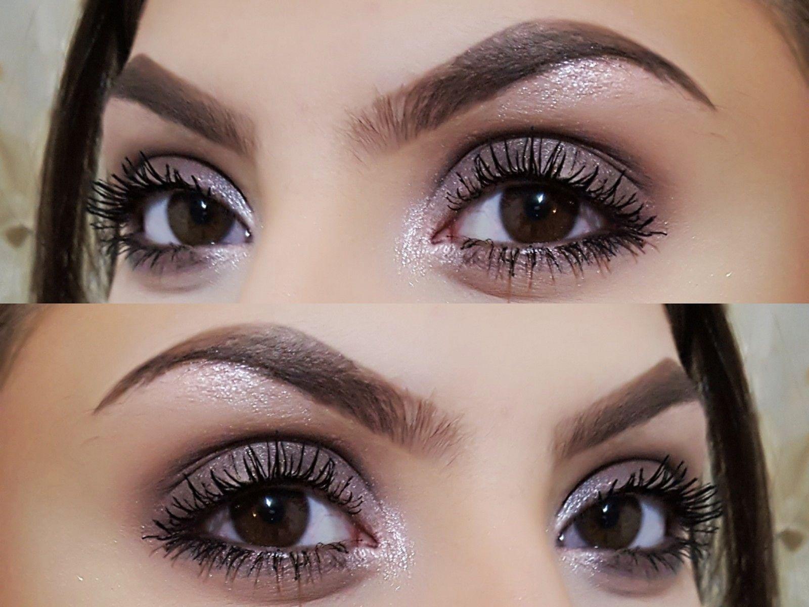 Make up using Makeup Revolution Pink Fizz palette