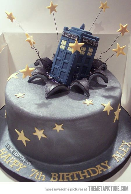 Swell Dr Who Tardis Cake With Images Tardis Cake Dr Who Cake Funny Birthday Cards Online Inifofree Goldxyz