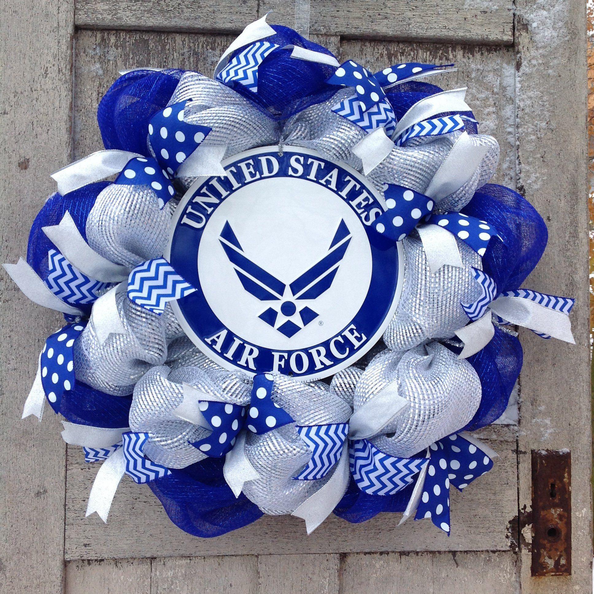 Air Force wreath, U.S. military wreath, U.S. Air Force